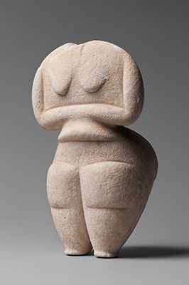 early cycladic figure
