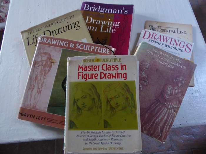5 books on drawing